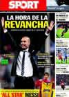 Portada diario Sport del 19 de Septiembre de 2010