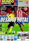 Portada Mundo Deportivo del 19 de Septiembre de 2010