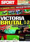 Portada diario Sport del 20 de Septiembre de 2010