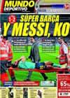 Portada Mundo Deportivo del 20 de Septiembre de 2010