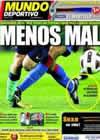 Portada Mundo Deportivo del 21 de Septiembre de 2010