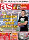 Portada diario AS del 23 de Septiembre de 2010