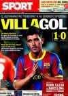 Portada diario Sport del 23 de Septiembre de 2010