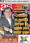 Portada diario AS del 24 de Septiembre de 2010