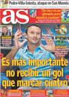 Portada diario AS del 25 de Septiembre de 2010