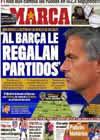Portada diario Marca del 25 de Septiembre de 2010