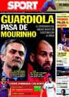 Portada diario Sport del 25 de Septiembre de 2010