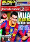 Portada Mundo Deportivo del 25 de Septiembre de 2010