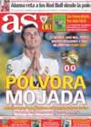 Portada diario AS del 26 de Septiembre de 2010