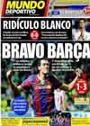 Portada Mundo Deportivo del 26 de Septiembre de 2010