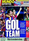 Portada Mundo Deportivo del 27 de Septiembre de 2010