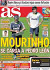 Portada diario AS del 28 de Septiembre de 2010