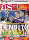 Portada diario AS del 29 de Septiembre de 2010