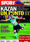 Portada diario Sport del 30 de Septiembre de 2010