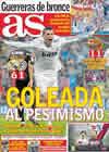 Portada diario AS del 4 de Octubre de 2010