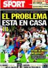 Portada diario Sport del 4 de Octubre de 2010
