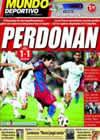 Portada Mundo Deportivo del 4 de Octubre de 2010