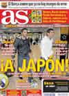 Portada diario AS del 5 de Octubre de 2010