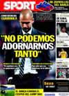 Portada diario Sport del 5 de Octubre de 2010