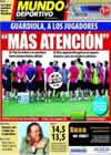 Portada Mundo Deportivo del 5 de Octubre de 2010