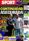 Portada diario Sport del 6 de Octubre de 2010