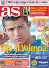 Portada diario AS del 7 de Octubre de 2010