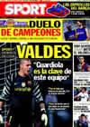 Portada diario Sport del 7 de Octubre de 2010