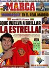 Portada diario Marca del 8 de Octubre de 2010