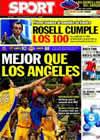 Portada diario Sport del 8 de Octubre de 2010