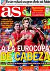 Portada diario AS del 9 de Octubre de 2010