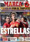 Portada diario Marca del 9 de Octubre de 2010