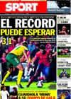 Portada diario Sport del 9 de Octubre de 2010