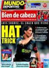 Portada Mundo Deportivo del 9 de Octubre de 2010