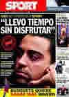 Portada diario Sport del 10 de Octubre de 2010