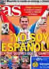 Portada diario AS del 11 de Octubre de 2010