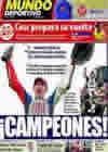 Portada Mundo Deportivo del 11 de Octubre de 2010