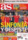 Portada diario AS del 13 de Octubre de 2010