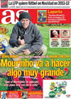 Portada diario AS del 15 de Octubre de 2010