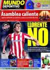 Portada Mundo Deportivo del 15 de Octubre de 2010
