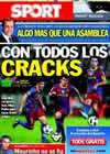 Portada diario Sport del 16 de Octubre de 2010