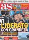 Portada diario AS del 17 de Octubre de 2010