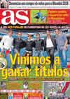 Portada diario AS del 18 de Octubre de 2010