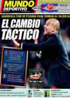 Portada Mundo Deportivo del 18 de Octubre de 2010