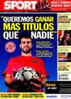 Portada diario Sport del 19 de Octubre de 2010