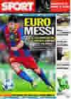 Portada diario Sport del 20 de Octubre de 2010