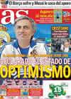 Portada diario AS del 21 de Octubre de 2010
