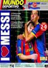 Portada Mundo Deportivo del 21 de Octubre de 2010