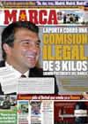 Portada diario Marca del 22 de Octubre de 2010