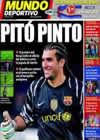 Portada Mundo Deportivo del 22 de Octubre de 2010