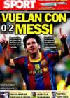 Portada diario Sport del 24 de Octubre de 2010